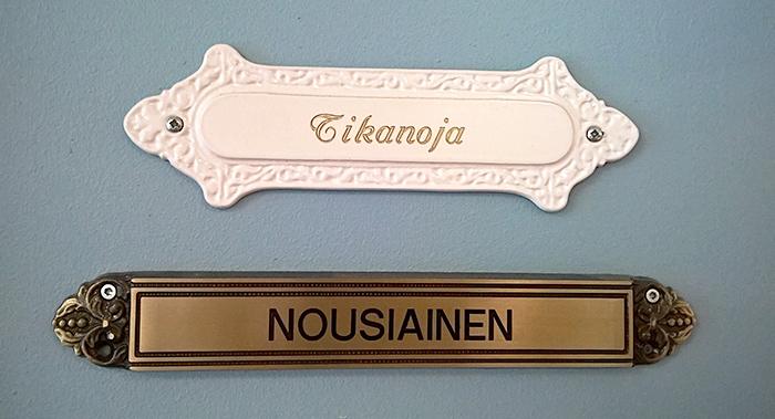 Ovikyltit Kuopion Takuutarra