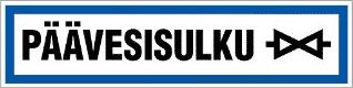 Kuopion Takuutarra - Päävesisulku
