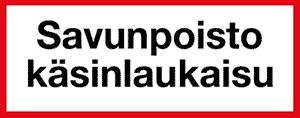 Kuopion Takuutarra - Savunpoisto käsinlaukaisu