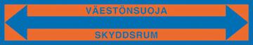 Kuopion Takuutarra - Väestönsuoja nuolella
